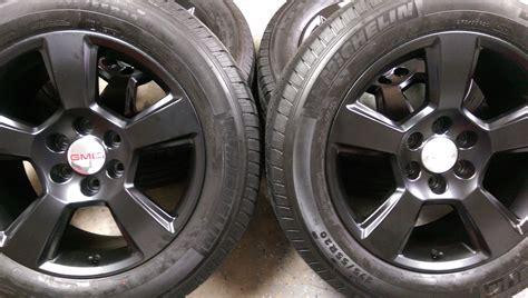 Wheels Chevy55 Black Dove 20 quot chevy 5 bar satin black replica