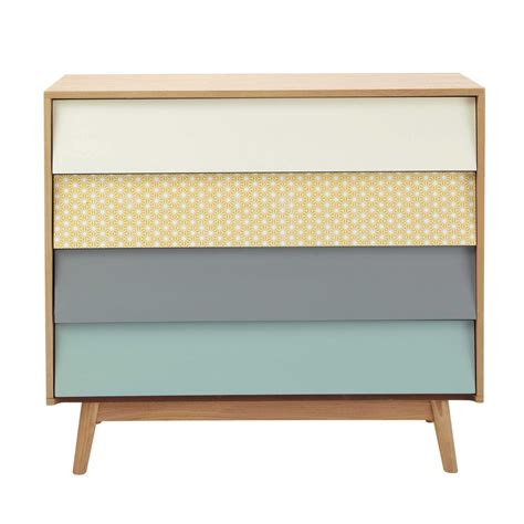 Commode Maisons Du Monde by Commode Vintage En Bois Multicolore L 90 Cm Fjord