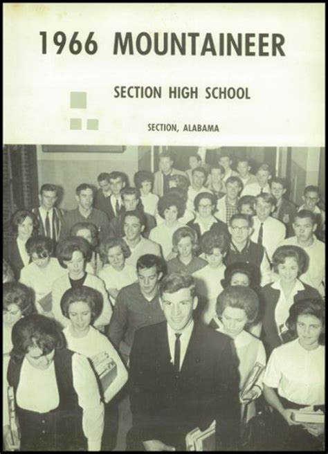 section high school alabama explore 1966 section high school yearbook section al