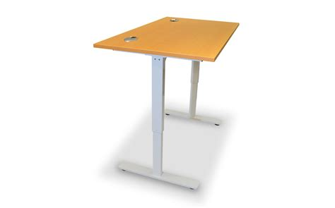 Adjustable Height Office Desks Electric Height Adjustable Desk Somercotes Office Furniture Ltd