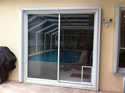 Patio Pet Door Door Sliding Glass Door Patio Door Door Doggie Door Within Sliding Glass Door