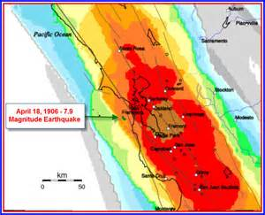 california earthquake probability map san francisco bay area earthquake probability map