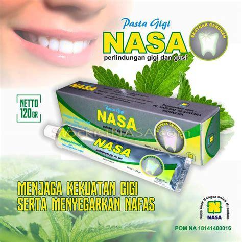 Pasta Gigi Merk Nasa pasta gigi nasa herbal gigi putih kuat dan sehat alami