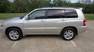 Toyota Highlander Hybrid Used Used Toyota Highlander Hybrid For Sale Dallas Tx Cargurus