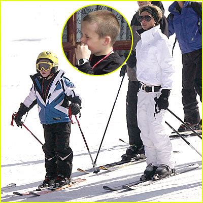 Posh Hits The Slopes by Posh Hits The Ski Slopes Beckham