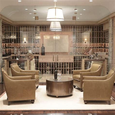giannetti home wine room wine cellar