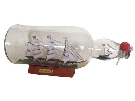 boat in a bottle buy hms victory model ship in a glass bottle 11 inch