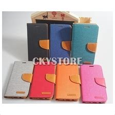 Flip Cover Mercury Canvas Samsung J5 Prime note 5 wallet price harga in malaysia lelong