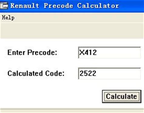 calculator hs code us 75 00 renault precode code calculator