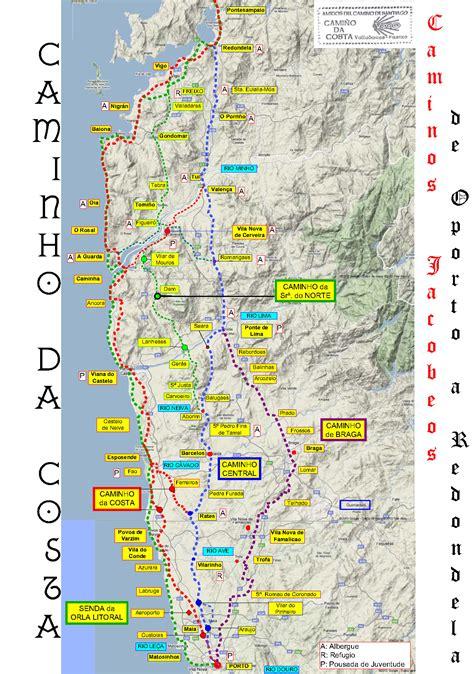 Camino De Santiago Portugal by Camino Portugues Buscar Con Camino De Santiago