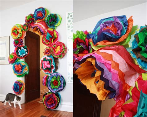 How To Make Mexican Paper Decorations - craft tutorials galore at crafter holic flowers