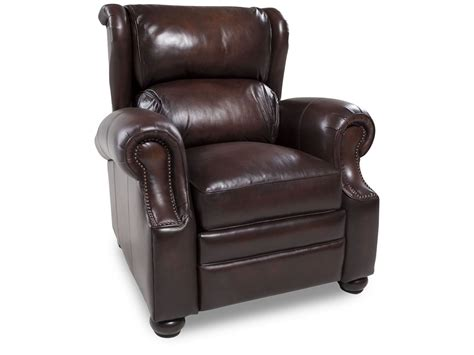 Bernhardt Leather Recliner by Bernhardt Warner Leather Recliner Mathis Brothers Furniture