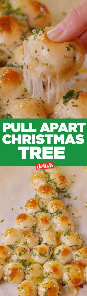 baking pull apart christmas tree video pull apart