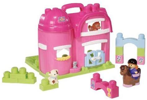 Mega Bloks Stable mega bloks play n go pony stable toys zavvi
