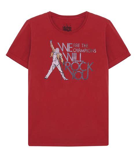 Tshirt We Will Rock You we will rock you t shirt crew neck soho soho