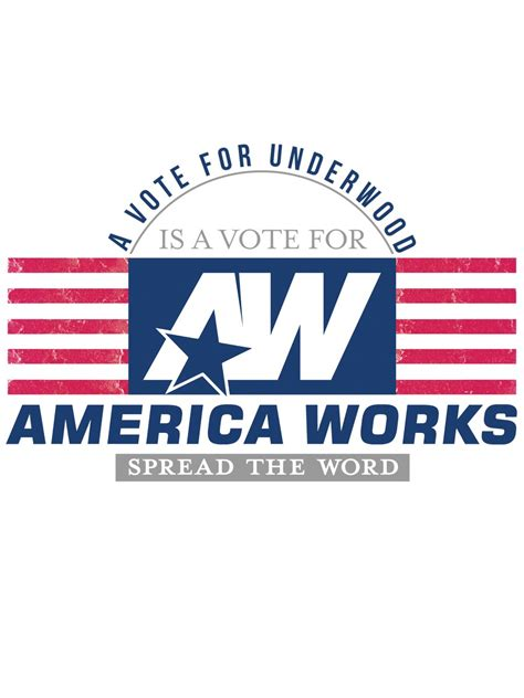 America At Work without work