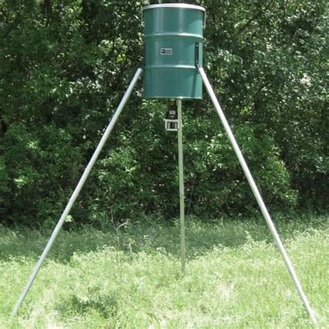 Deer Feeder tripod deer feeder with 300lb capacity lumber 2 of oklahoma city