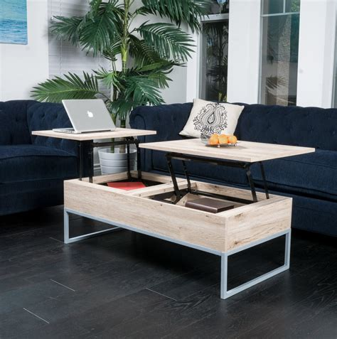l tables with storage lift top coffee table with storage