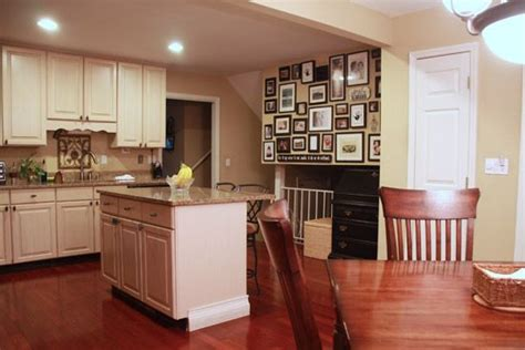 kitchens with sherwin williams softer paint color kitchen dining room before after