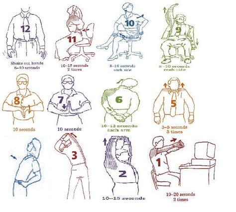 shoulder from sitting at desk 15 best neck back posture exercises images on