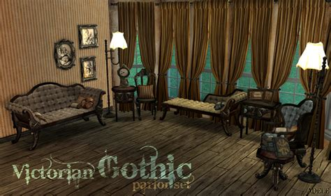 Sims 3 Bedroom Sets Mod The Sims Victorian Gothic Set