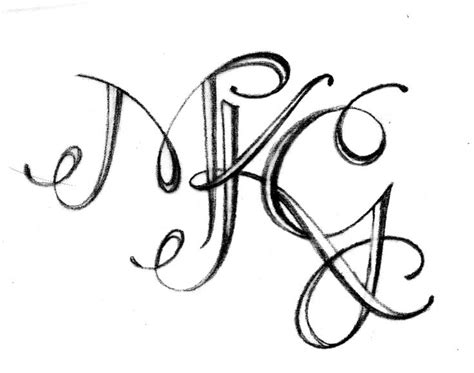 monogram tattoo maker 17 best images about tattoo on pinterest initials
