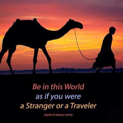 be in this world as if you were a or a tr