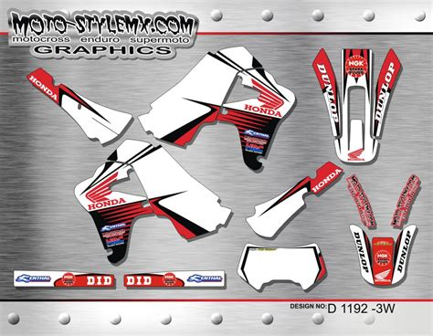 Honda Xr Aufkleber by Honda Xr 650r Graphics Decals Kits