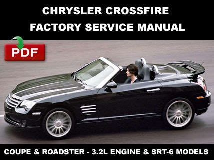 buy car manuals 2007 chrysler crossfire engine control find chrysler 2004 2008 crossfire factory service repair