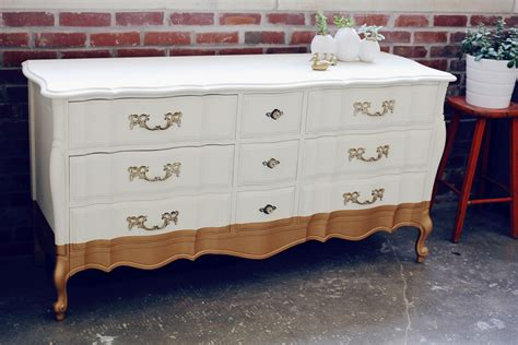 White Provincial Dresser by A Modern Take On Provincial White Dresser Dipped