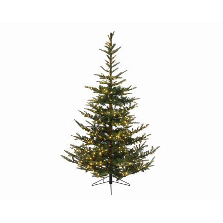 a noble or douglas fir 7ft led tree 9 x 72 quot pre lit everlands nobilis fir artificial tree warm clear led lights