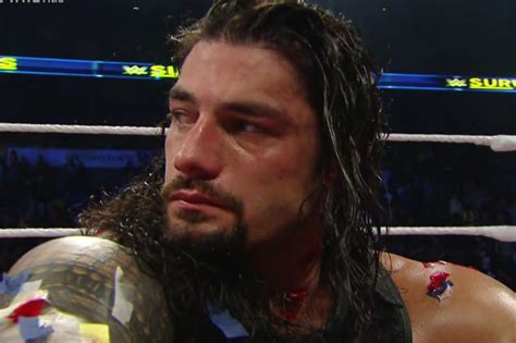 roman reigns facebook the failure of the roman reigns push cageside seats