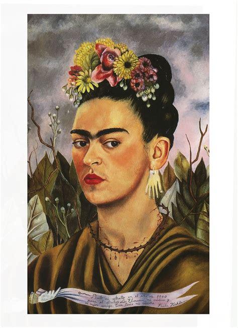 frida kahlo self portrait biography frida kahlo self portrait dedicated to dr eloesser 1940