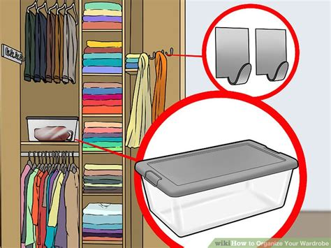 How To Organize Your Closet Wikihow by 3 Ways To Organize Your Wardrobe Wikihow