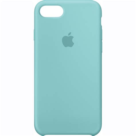 Iphone 7 Blue Original Silicone Casing Cover Bumper Armor apple iphone 7 silicone sea blue mmx02zm a b h photo