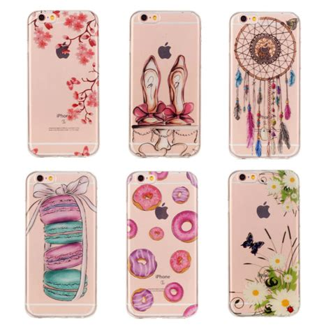 iphone 6 6s macaroon ekone pink silicone for iphone 7 transparent