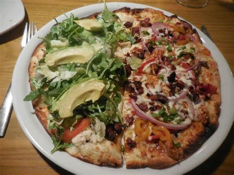 California Pizza Kitchen At Memorial City Houston Tx 77024 by Split Blt And Jamaican Chicken Thin Crusted Pizza