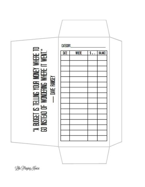 free printable envelope system envelope budget template by sherryl buiza jewelry