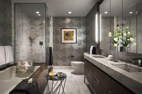 atemberaubende badezimmer manhattan pied a terre terrat elms interior design