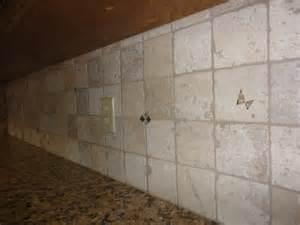 sealing travertine backsplash how to seal a tile backsplash using miracle 511