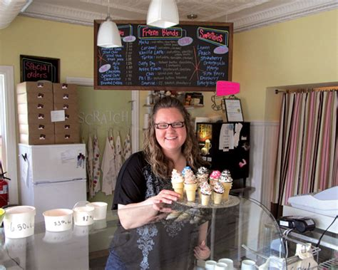 natalie brown cedar falls ia birthday cones cupcake bakery marks first anniversary