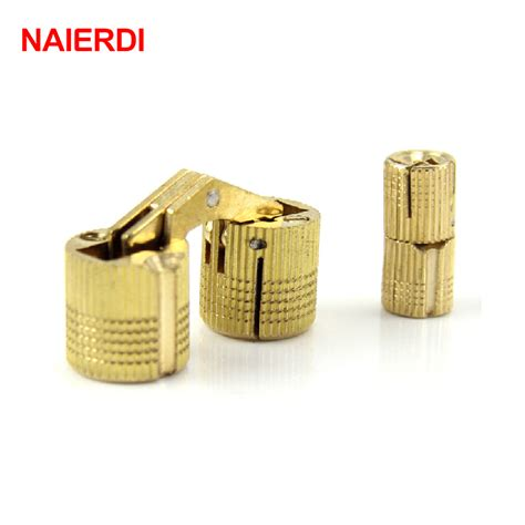 Minilogo Hardware 78 Mounting Screws naierdi 4pcs 10mm copper barrel hinges cylindrical cabinet concealed invisible brass
