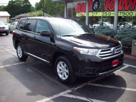 Used Toyota Highlander In Usa Sell Used 2012 Toyota Highlander Base In 1200 W