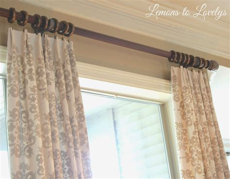 drop cloth curtains easy diy  sewing  images