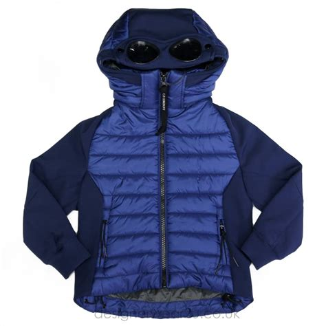Cp Kid cp company undersixteen cp company blue padded hooded