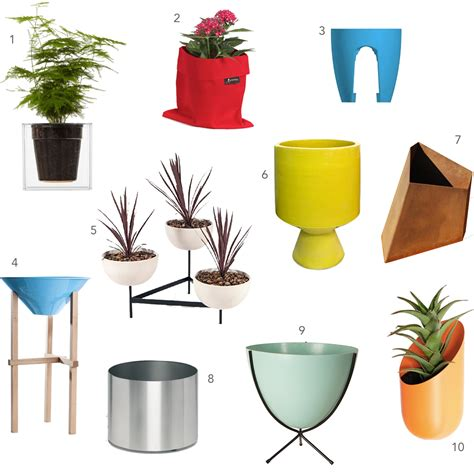 design planters 10 colorful contemporary outdoor planters design milk