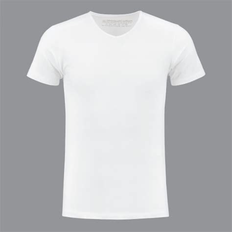 T Shirt white basic v neck t shirt by shirtsofcotton