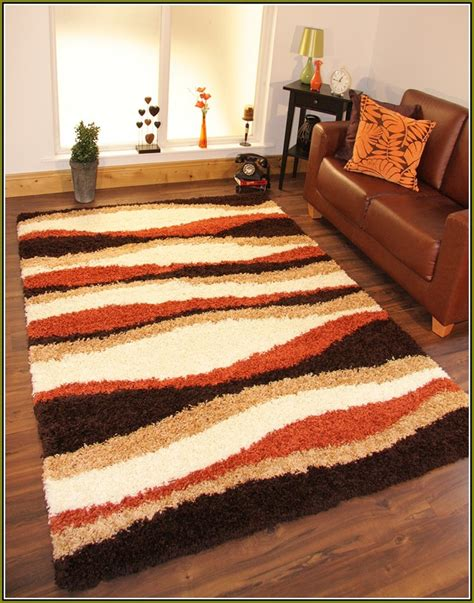 Orange And Brown Area Rug Burnt Orange Brown Area Rugs Square Lines Pattern Orange White Brown Combined Layers Wool Carpet