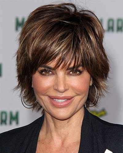 does lisa rinna have fine hair lisa rinna hairstyles are easy to style pelo corto