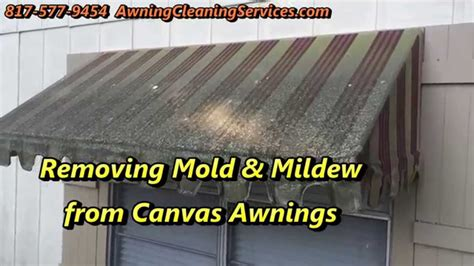how to clean canvas awnings awning cleaning to remove mold mildew dallas fort worth tx